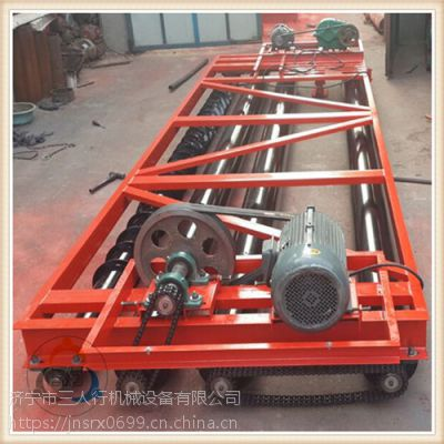 三人行SRXGZ-20滚轴摊铺机,三滚轴振动梁