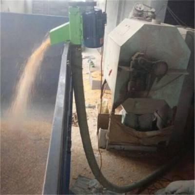 汇众自吸式油菜籽装罐用上料机 悬挂式软管抽料机