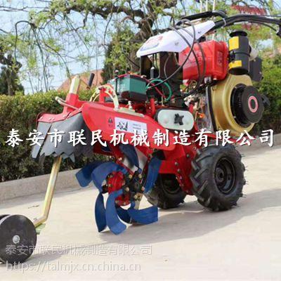 鞍山 水田旱地用开沟机 LM-186F大葱种植开沟起垄机.