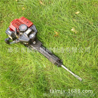 便携式小型冲击夯 建筑凿岩机械 汽油动力手提式冲击锤厂家