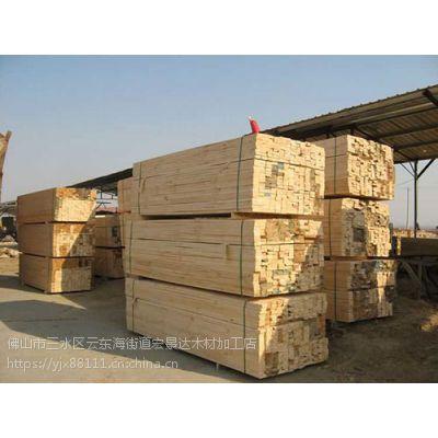 佛山南庄镇建筑木方 工地模板 进口方条厂家