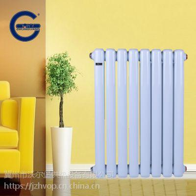 钢制柱型暖气片表面温度分布的合理矩形肋片与圆管的配合 钢制暖气片 散热器钢3柱