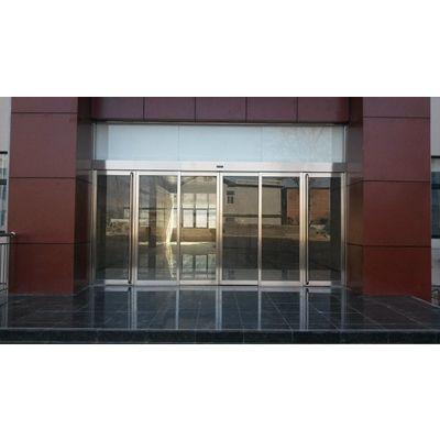 黄埔维修玻璃自动感应门,电动感应玻璃门的安装18027235186