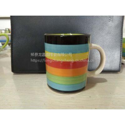 工厂直供【2017新款】全网爆款 全网 手绘马克杯,手绘咖啡杯,环保无毒无害无重金属