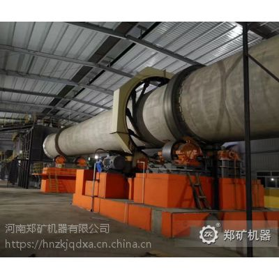 郑矿机器供应Φ1.4×33-Φ3.2×50氧化锌回转窑 氧化锌回转窑厂家