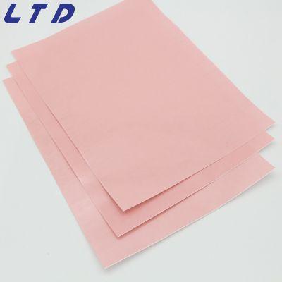 粉红色导热系数1.0w/m-k热阻低深圳导热相变化材料生产厂家