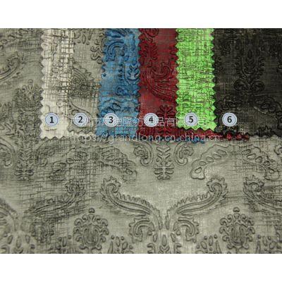 压花布涤纶面料广德隆纺织针织布服装面料幅宽145cm100%涤纶