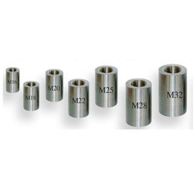 衡水厂家专业生产钢筋套筒 直螺纹钢筋连接套筒 现货供应量大从优