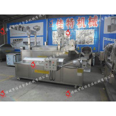 徐州馓子油炸机 电加热油炸流水线