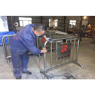 信阳不锈钢移动铁马厂家直销价格优惠