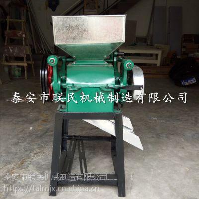 泰安联民供应 电动商用花生米破碎机 家用小型豆扁机 买多减多