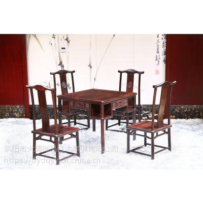 河南焦作精品批发红木家具价格表老挝大红酸枝交趾黄檀麻将桌