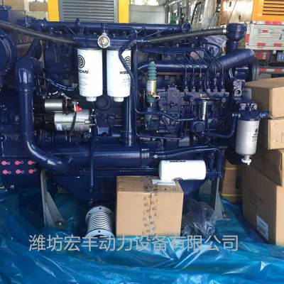 现货WPC12正品潍柴船机 450马力船用主机WP12C450-21