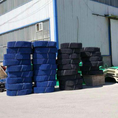 圆塔黑色耐高温填料多钱一吨 PP材质 耐温80度 河北华强