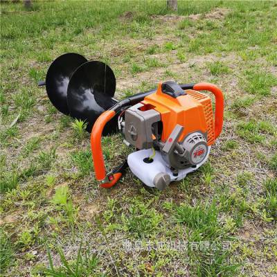 快速挖坑打眼机 汽油机3.2马力小型刨穴机 黑土地地钻机爆款