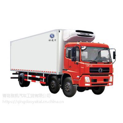 国五冷藏车,江苏东风天锦食品冷藏车保温车,水产冷藏车,冷鲜肉冷藏车冷藏厢