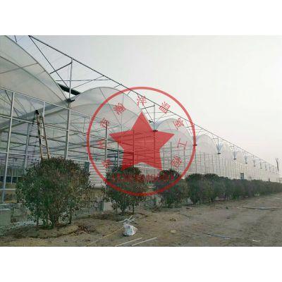 钢结构薄膜连栋生态温室建造价格—青州瀚洋温室