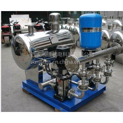 铜川变频式全自动管道式增压设备 铜川分体式增压供水设备 RJ-2705