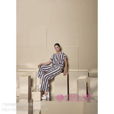 纽方专柜正品奢侈品牌女装批发时尚休闲套装低价折扣女装批发