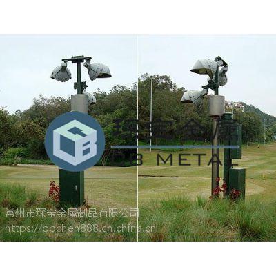 供应高尔夫球场升降杆 云台升降设备 琛宝专业定制