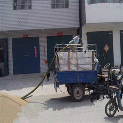 汇众晒谷场用电动软管吸粮机 自吸式玉米装车灌包用抽粮机