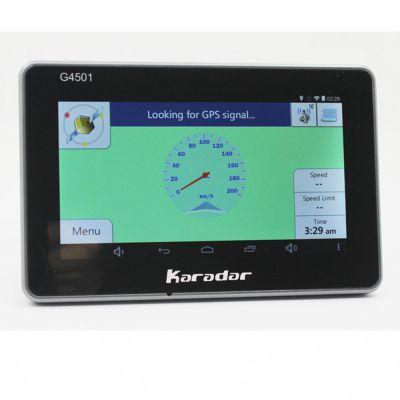 4.5寸导航 行车记录仪 高清夜视24小时停车监控1080P广角隐藏式行车记录仪 Karadar