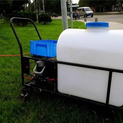 热销105升电动打药机 蓄电池耐用喷雾器 大棚花铺专用打药车