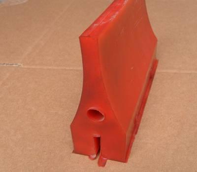 供应清扫器配件超耐磨聚氨酯PU刮刀