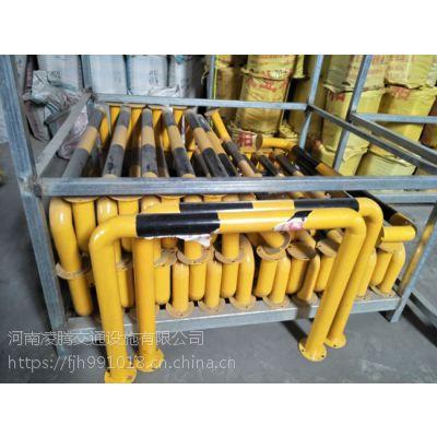钢管挡车定位器停车位倒车止退器 防撞围栏护栏 U型管/杆