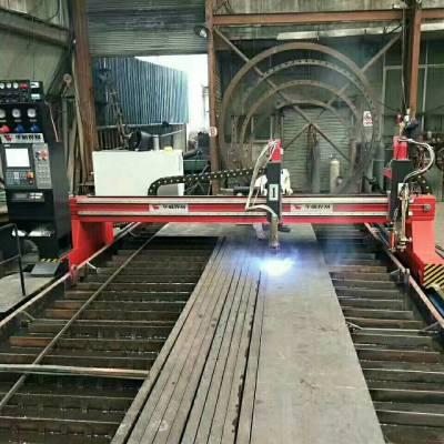 西安上海华威 HNC-2000W 龙门数控切割机 轻型小龙门数控火焰等离子切割机厂家