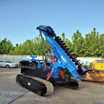 湖北武汉光伏打桩机生产厂家,两用履带打桩机报价