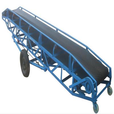 料场轻型皮带输送机 兴亚传送输送机厂家定制