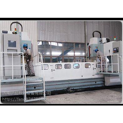 硕超数控锅炉专用加工设备:龙门移动式高速数控集箱钻床,锅炉集箱管钻孔加工效率高