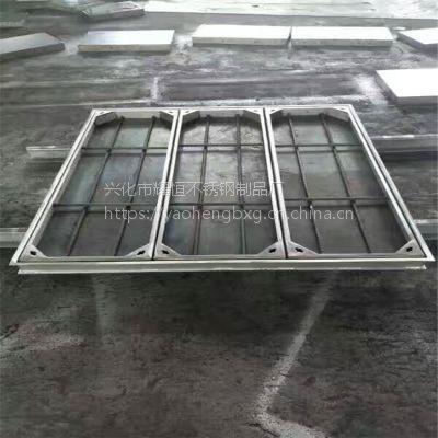 耀恒 供应不锈钢广场井盖 地下车库窨井盖