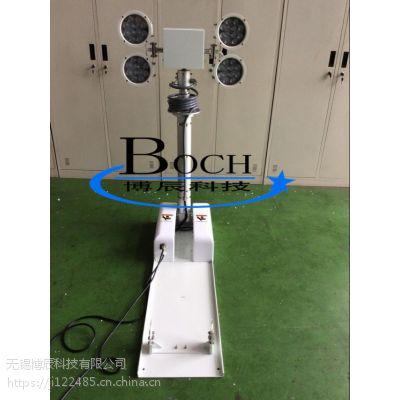 博辰5.5米 T形倒伏平台 电缆气动升降杆 方舱式升降杆 可定制