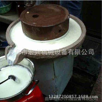 质优价廉豆浆石磨机  养生米浆石磨机 商用电动石磨机 带电机