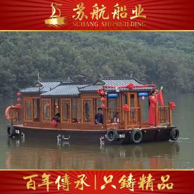 西湖游船厂家/画舫船价格/西湖观光客船