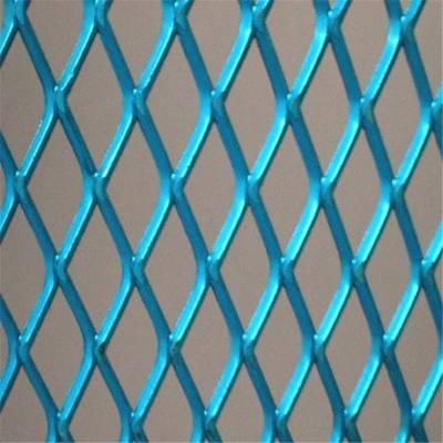 铁板菱型网 菱型镀锌网 金属钢板网