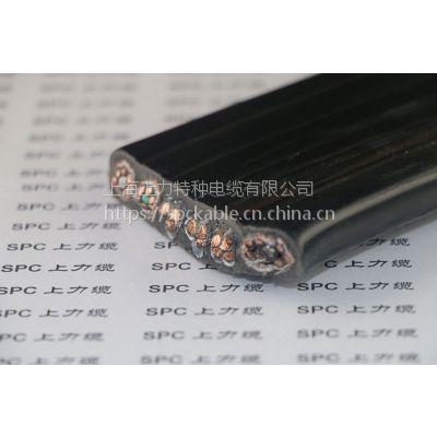 纤维编织-厂家直销SPC上力缆拖链停车场扁电缆-纤维加强型