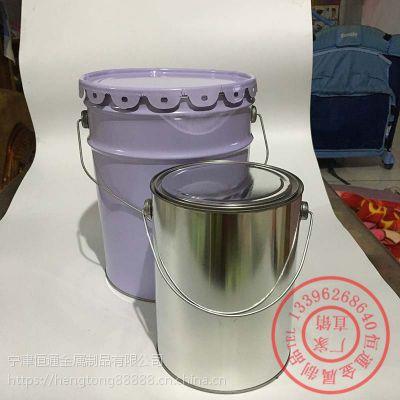 天津油脂铁桶5L铁箍桶铁桶多少钱恒通