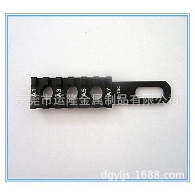 6061 6063铝制品皮卡导轨及表面处理、CNC精密机加工 、深圳东莞铝型材挤压厂开模订做