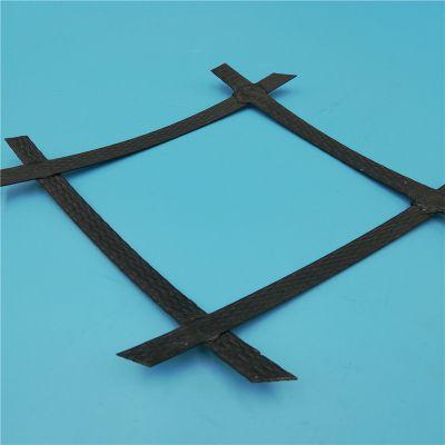 江苏厂家销售钢塑土工格栅国标80kn高抗拉寿命长双向钢塑格栅价格