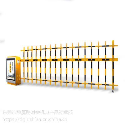 供应惠州加长高强度栅栏杆道闸、博罗栏栅道闸安装