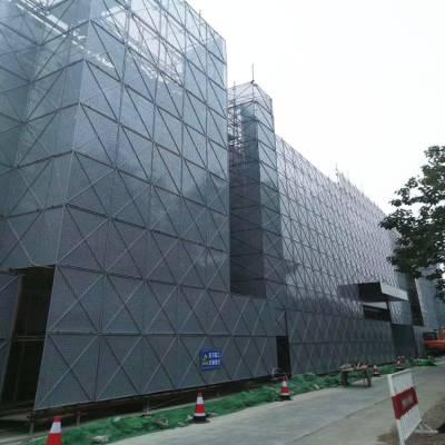 生产商建筑冲孔防护网 《国帆丝网》 爬架网片多少钱