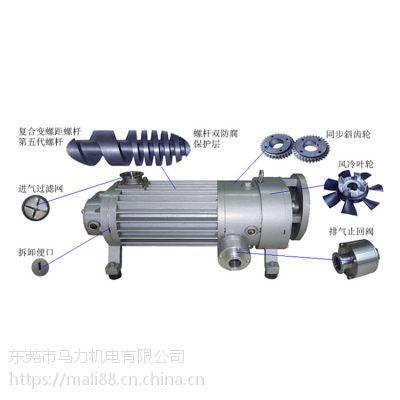 螺杆真空泵厂家讲述TGB干式复合螺杆真空泵特点