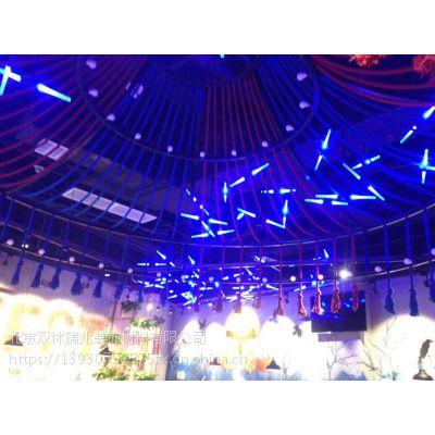 双林瑞兆供应定制娱乐场所现代简约亚克力棒艺术LED灯