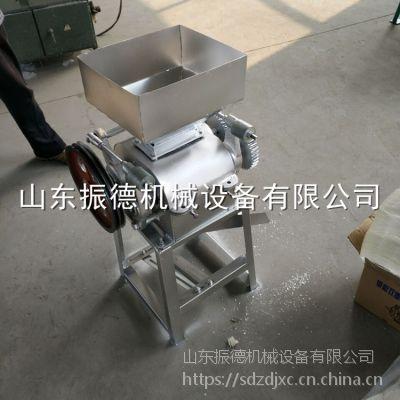 多用型优质压扁机 熟花生米压碎机 振德牌 花生破碎机 厂价热销