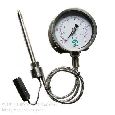 PG112/PG123/PG133高温熔体压力表皓力德holeader齐亚斯zais