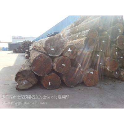 张家港现货供应南美花梨木原木