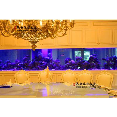 南京鱼缸定制精品豪华玻璃鱼缸制作